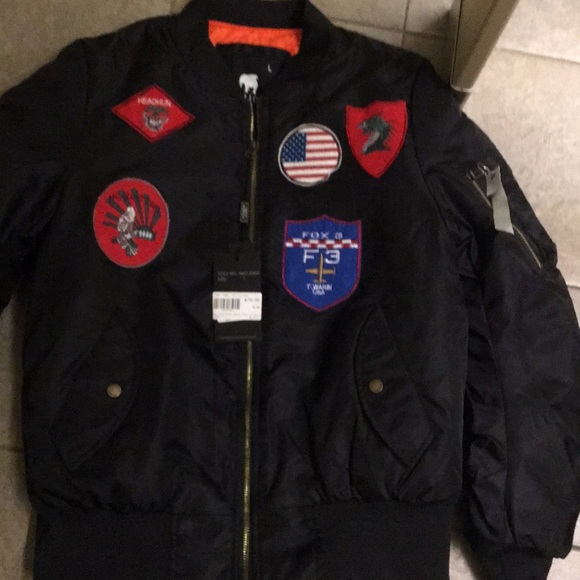 American Stitch Other - Flight jacket new size large with tags